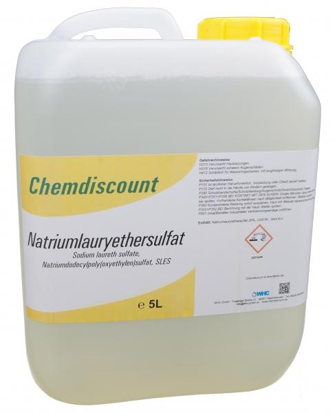 5Liter Natriumlaurylethersulfat (28%, flüssig), Sodium Laureth Sulfate SLES