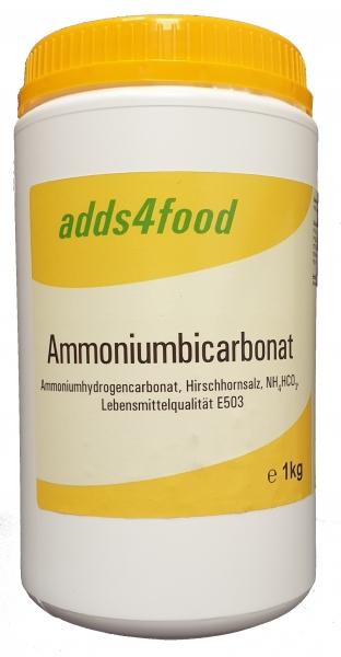 1kg Ammoniumbicarbonat Lebensmittelqualität E503