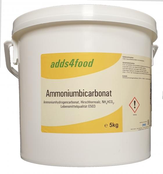 5kg Ammoniumbicarbonat Lebensmittelqualität E503